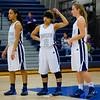 Roosevelt junior forward Julanie Carter, Roosevelt junior guard Maleika Carter, Roosevelt junior guard Alexa Pitz