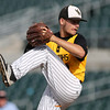WSR starter Alex Robson pitches during the third inning in the Class 3A State Championship at Principal Park in Des Moines, Iowa on Saturday, August 1, 2015. (Photo by Dylan Heuer/Iowa Cubs)