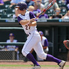 Waukee's Robert Primrose hits a single during the seventh inning in a Class 4A Quarterfinals game at Principal Park in Des Moines, Iowa on Wednesday, July 29, 2015. (Photo by Dylan Heuer/Iowa Cubs)