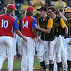 Action from the 1A Quarterfinals between Edgewood-Colesbug and West Sioux (Hawarden) at Principal Park on July 23, 2016 in Des Moines, Iowa.