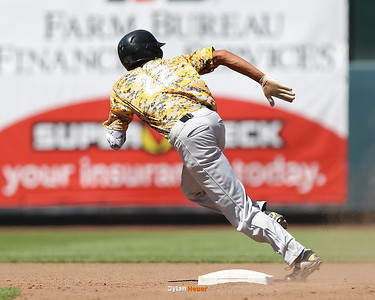 Action from the 2A Quarterfinals between Hinton and Van Buren at Principal Park on July 25, 2016 in Des Moines, Iowa.