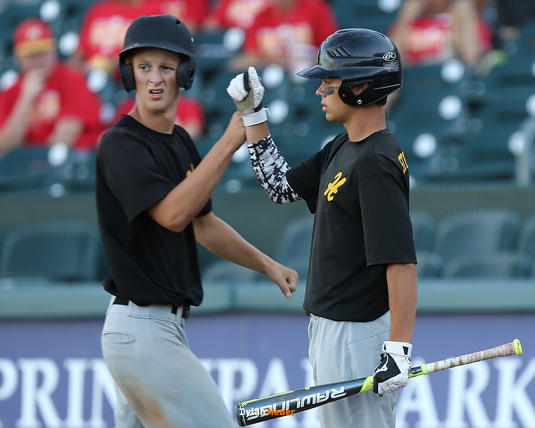 Action from the 2A Semifinals between Hinton and Clear Lake at Principal Park on July 28, 2016 in Des Moines, Iowa.