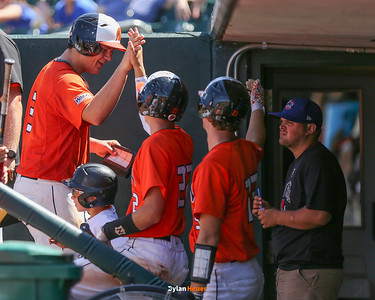 Action from the 3A Quarterfinals between Solon and Wahlert at Principal Park on July 26, 2016 in Des Moines, Iowa.
