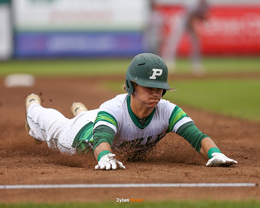 Action from the 3A Semifinals between Carlisle and Pella at Principal Park on July 29, 2016 in Des Moines, Iowa.