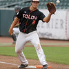Action from the 3A Semifinals between Solon and Harlan at Principal Park on July 29, 2016 in Des Moines, Iowa.