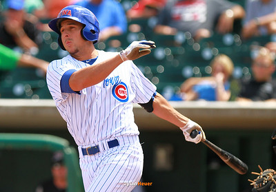 The Cubs' NAME against the River Cats during the xxxx inning at Principal Park in Des Moines, Iowa on Wednesday, August 14, 2013.