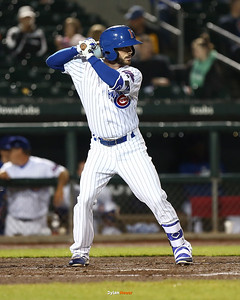 The Iowa Cubs take on the New Orleans Baby Cakes at Principal Park on Friday, April 14th, 2017 in Des Moines, Iowa.