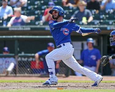 The Iowa Cubs take on the Round Rock Express at Principal Park on Monday, April 17th, 2017 in Des Moines, Iowa.