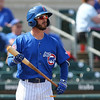 The Iowa Cubs take on the New Orleans Baby Cakes at Principal Park on Thursday, April 13th, 2017 in Des Moines, Iowa.
