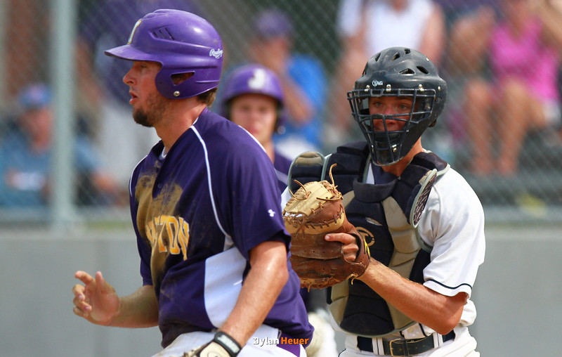 vs the Johnston Dragons at Roosevelt High School in Des Moines, Iowa, on Monday, July 9th, 2012.