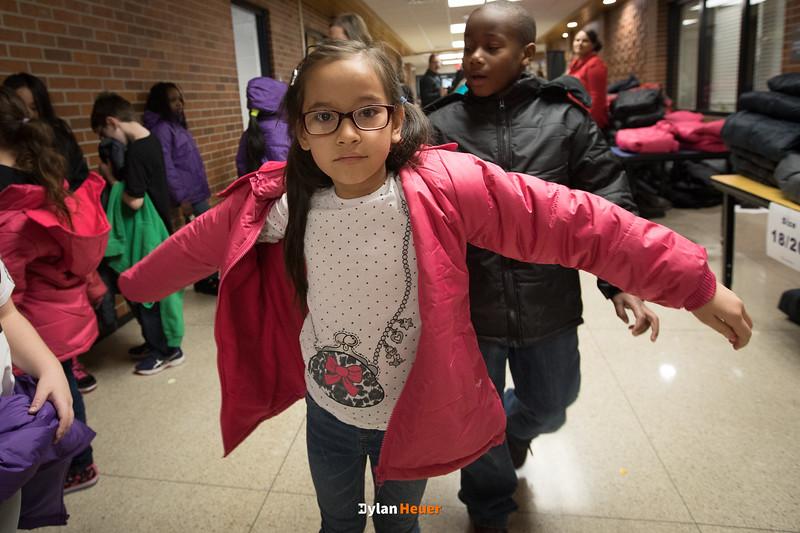Samuelson Elementary School UnitedHealthcare Coat Drive