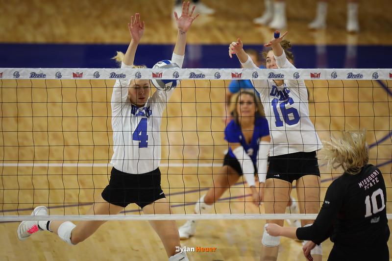 Women Volleyball - Drake Bulldogs vs. Missouri State Bears