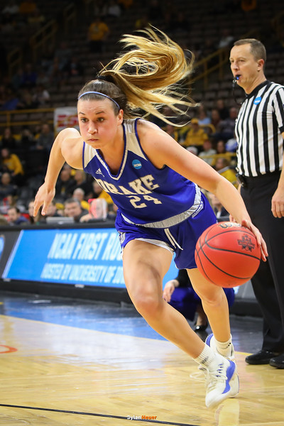 NCAA Women's Division I Basketball Championship First Round: Drake Bulldogs vs. Missouri Tigers