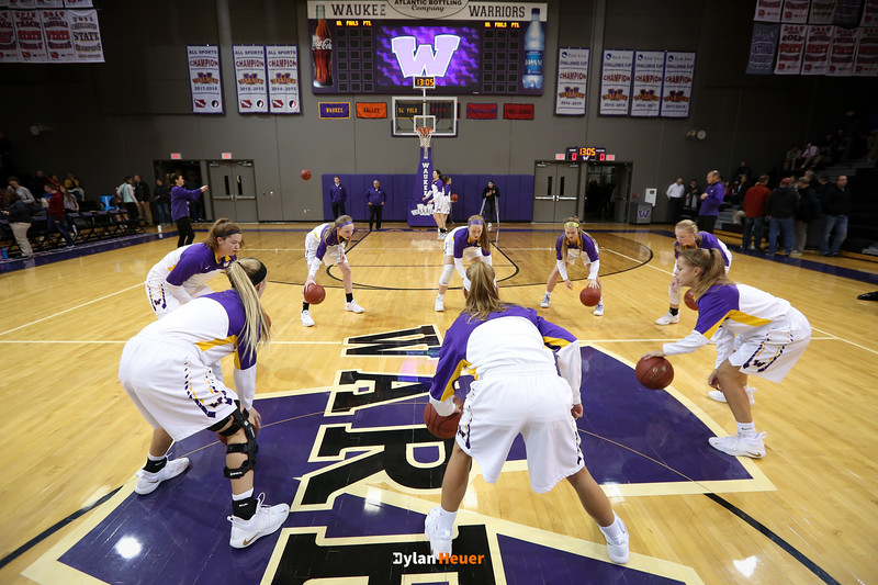 the Valley Tigers and the Waukee Warriors