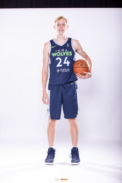 NBA G League: Iowa Wolves Media Day