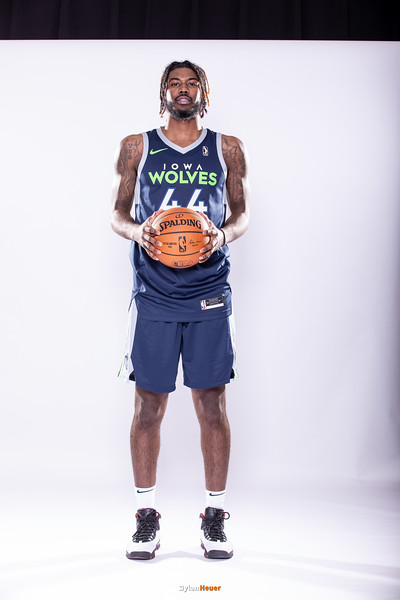 NBA G League: Iowa Wolves Media Day