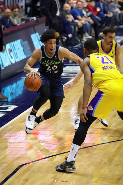 NBA G League: South Bay Lakers vs. Iowa Wolves