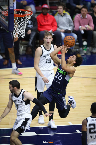 NBA G League: Austin Spurs vs. Iowa Wolves