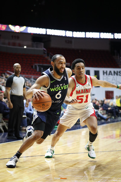 NBA G League: Maine Red Claws vs. Iowa Wolves