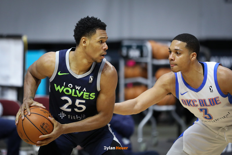 NBA G League: Oklahoma City Blue vs. Iowa Wolves