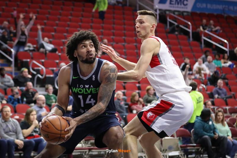 NBA G League: Memphis Hustle vs. Iowa Wolves