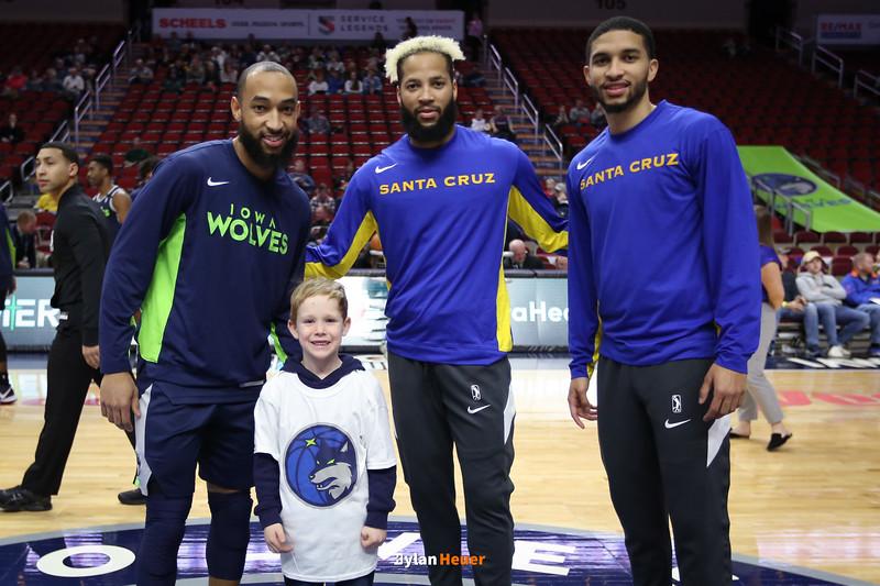 NBA G League: Santa Cruz Warriors vs. Iowa Wolves
