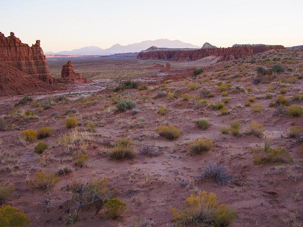 Desert and Mountains / Goblin Valley State Park, Utah