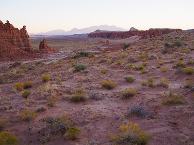 Desert and Mountains / Goblin Valley State Park, Utah