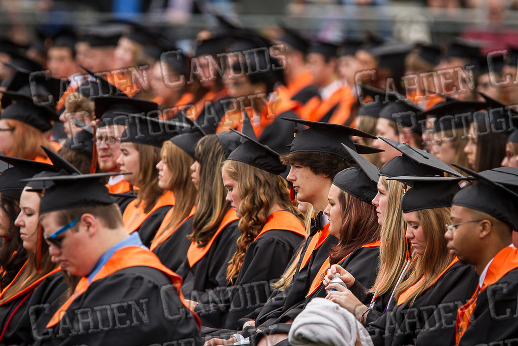 Davie High Graduation 2013-35
