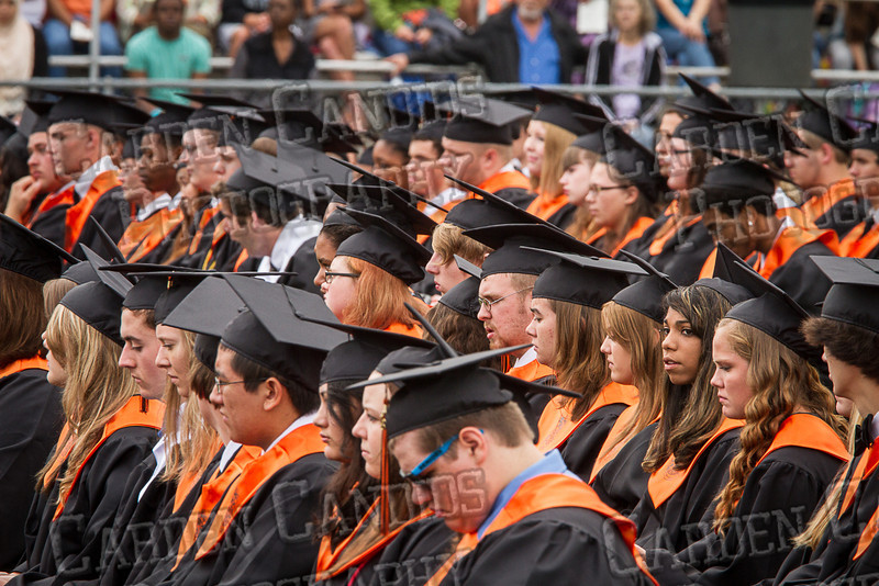 Davie High Graduation 2013-44