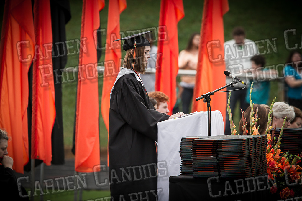 Davie High Graduation 2013-52