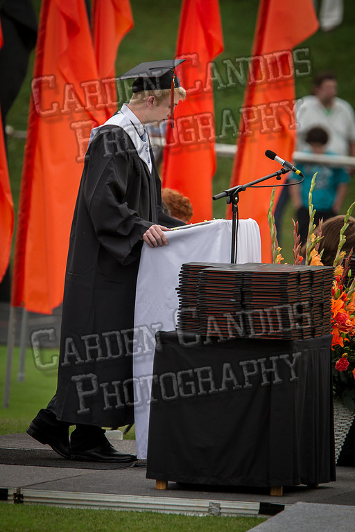Davie High Graduation 2013-23