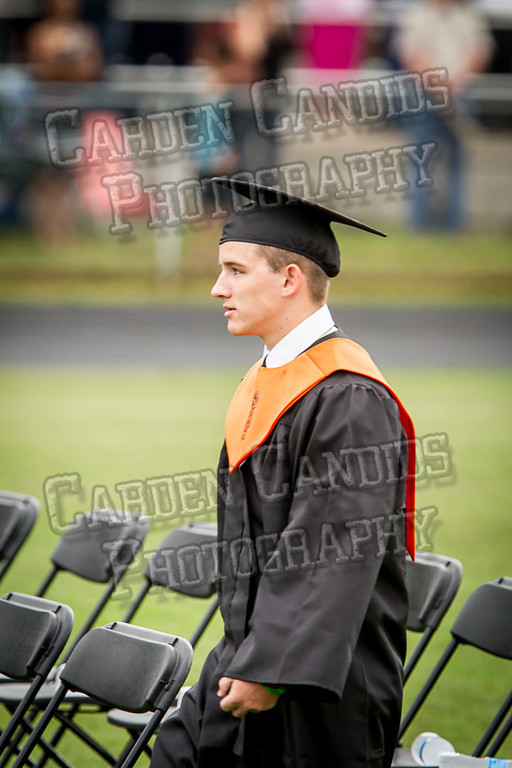 Davie High Graduation 2013-8