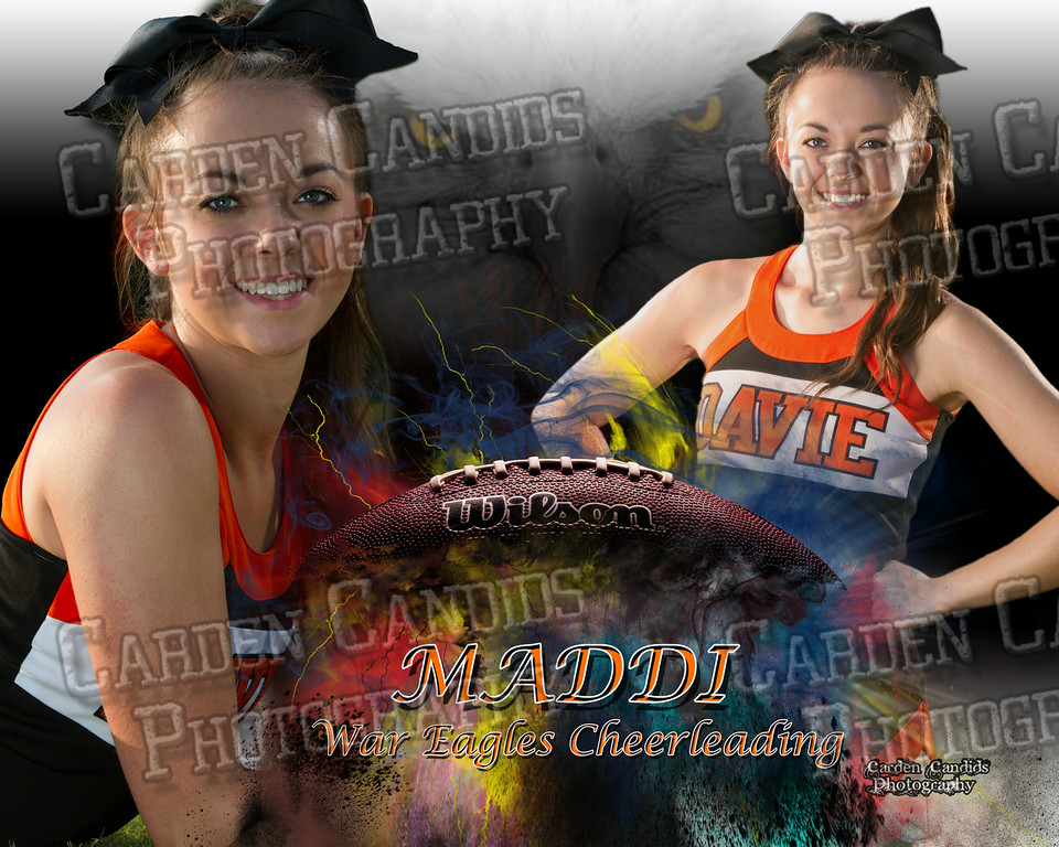 Maddi Meade FOOTBALL 16x20