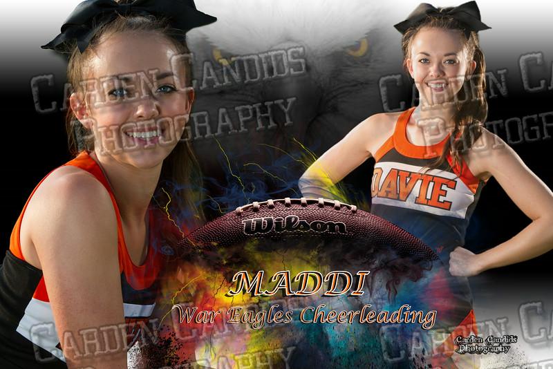Maddi Meade FOOTBALL 12x18