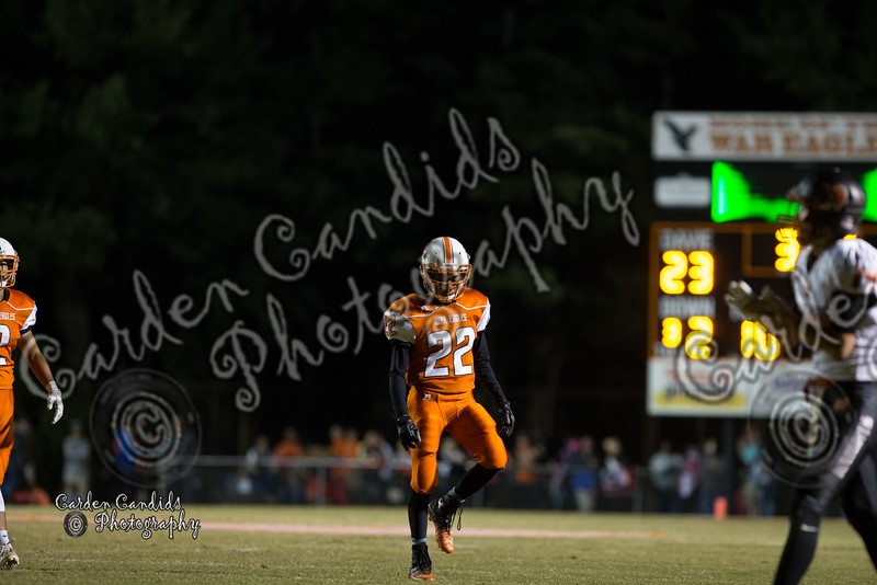 DHS Varsity vs North Davidson Game played on 10-14-16- DHS Homecoming