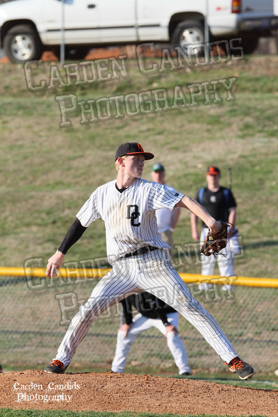 DHS MENS JV Baseball vs N Davidson - 3-17-15-25