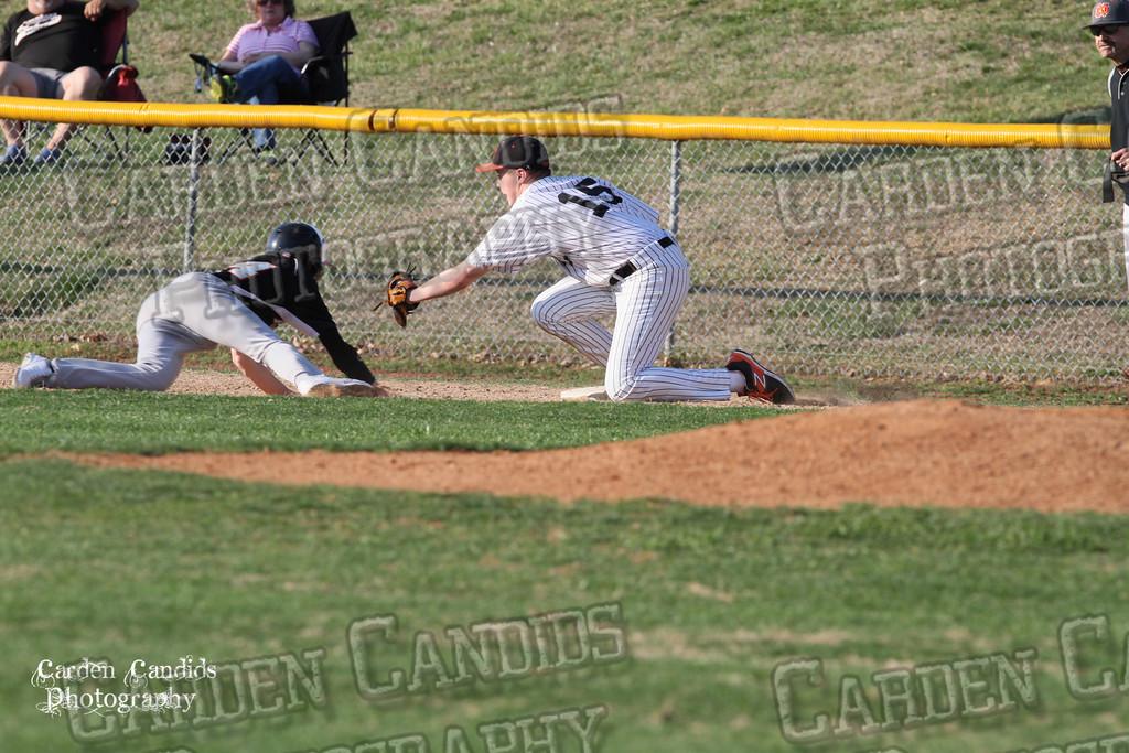 DHS MENS JV Baseball vs N Davidson - 3-17-15-9