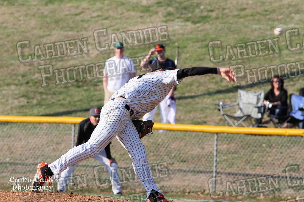 DHS MENS JV Baseball vs N Davidson - 3-17-15-5