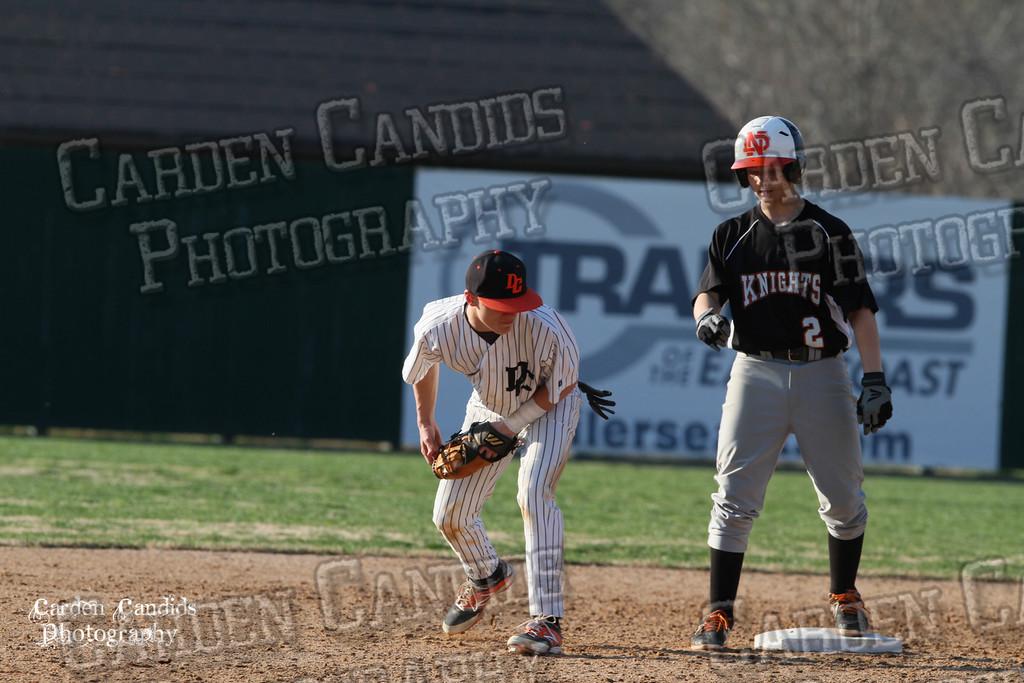 DHS MENS JV Baseball vs N Davidson - 3-17-15-18