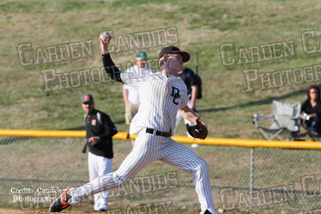 DHS MENS JV Baseball vs N Davidson - 3-17-15-8