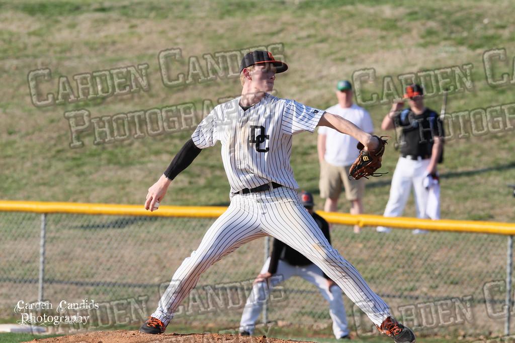 DHS MENS JV Baseball vs N Davidson - 3-17-15-4