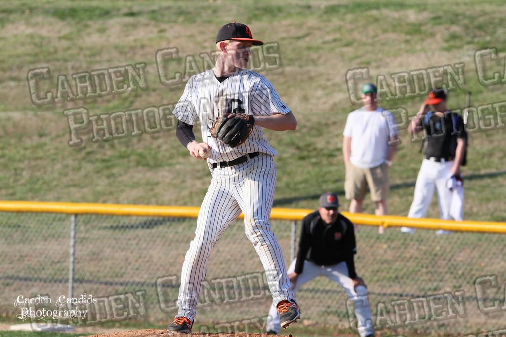 DHS MENS JV Baseball vs N Davidson - 3-17-15-2