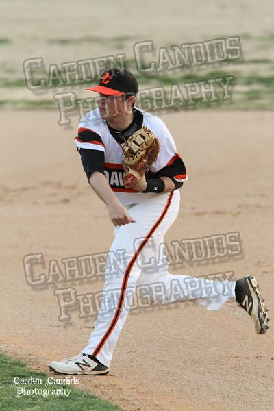 DHS MENS VARSITY Baseball vs N Davidson 3-17-15-35