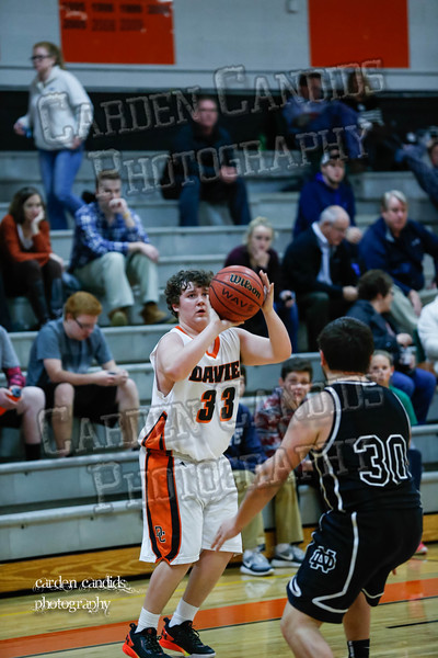 DHS Mens JV vs North Davidson 1-5-16-025
