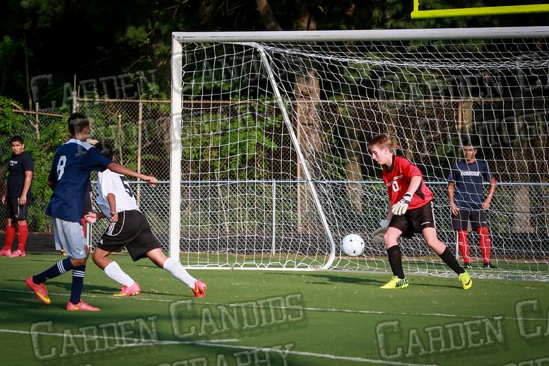 Men's JV Soccer vs Forbush-8-21-14-19