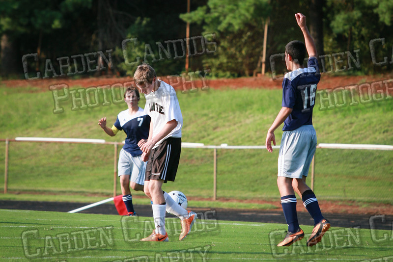 Men's JV Soccer vs Forbush-8-21-14-57