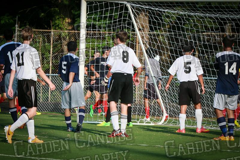 Men's JV Soccer vs Forbush-8-21-14-52