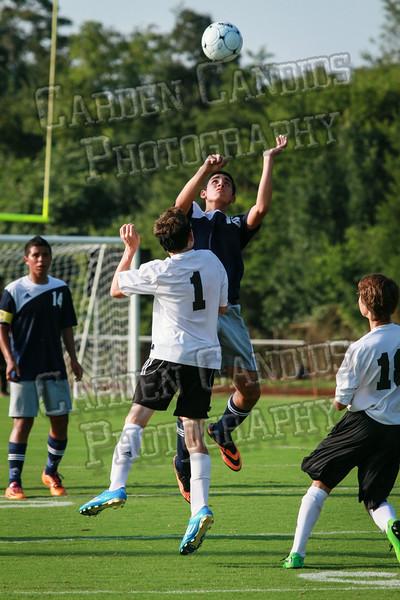 Men's JV Soccer vs Forbush-8-21-14-46