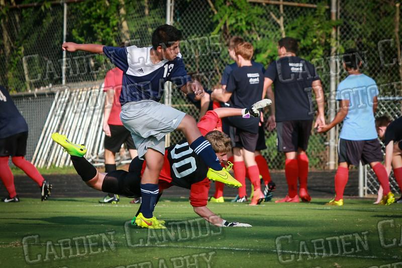 Men's JV Soccer vs Forbush-8-21-14-50